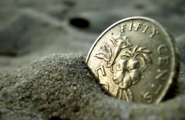 Mince v písku - GBP