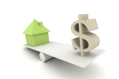 Houpačka - dům a peníze (USD, dolar)
