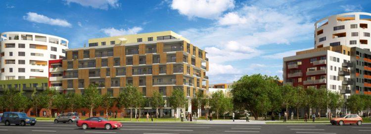 Novostavba - byty - bytový dům - Finep Modřany