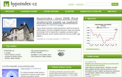 Hypoindex.cz - web o financování bydlení