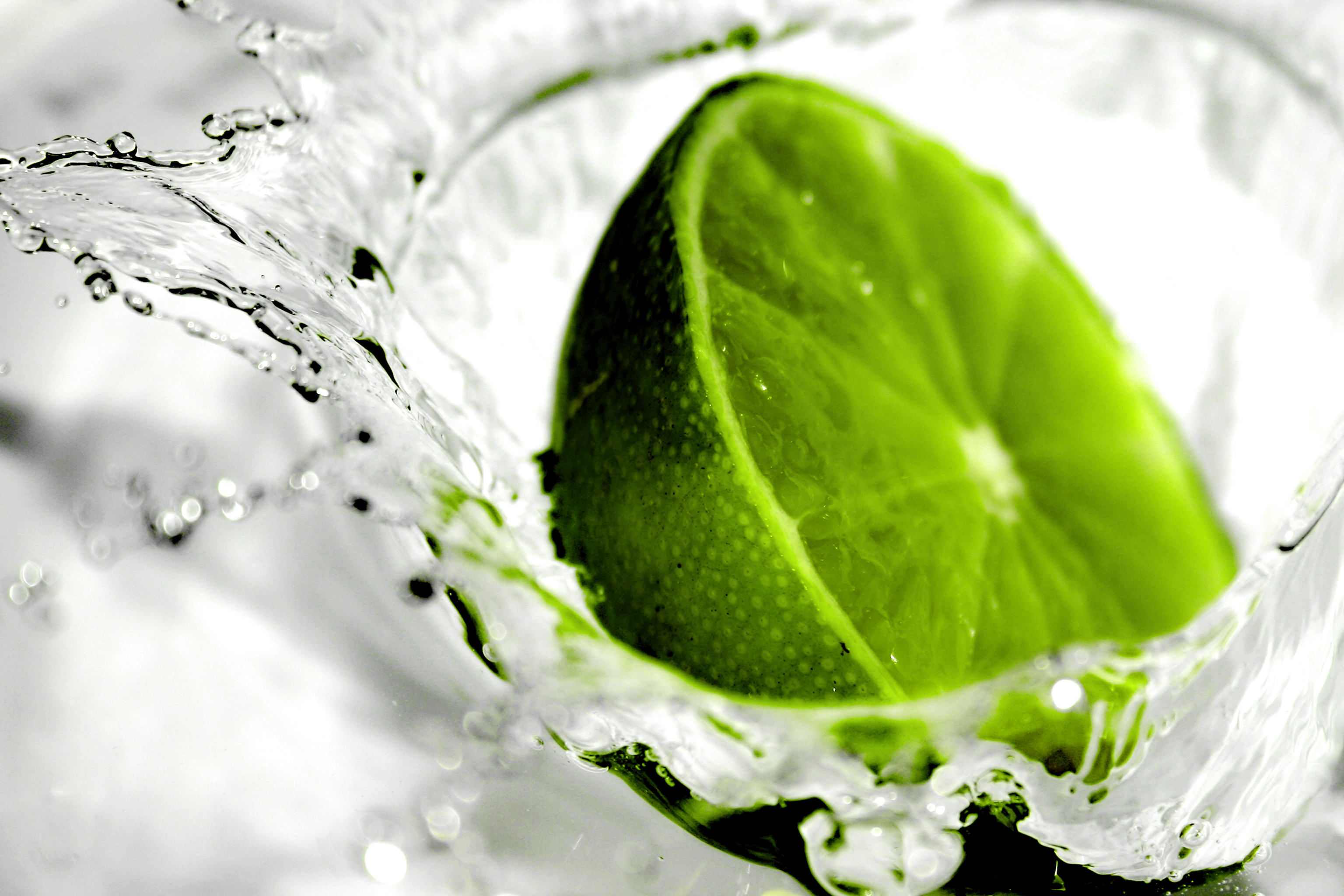 Voda - limetka