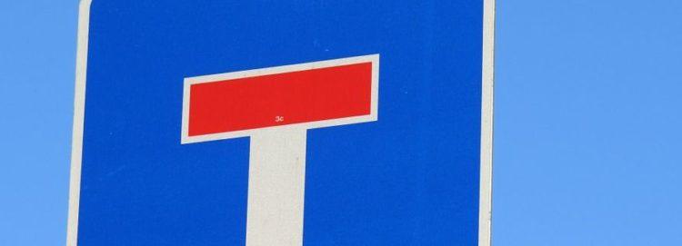 značka slepá ulice