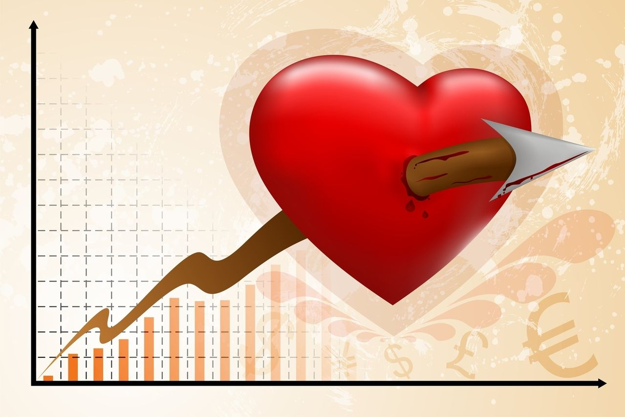 Graf - hrot šípu do srdce