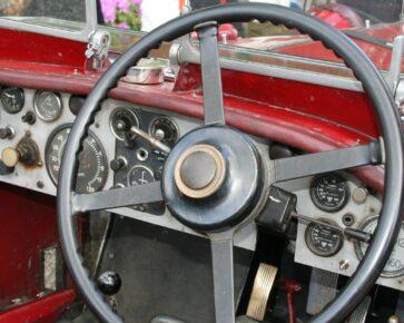 Volant - automobil - veterán