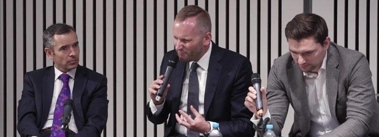 FINfest Jaro 2017 - Jan Sadil, Petr Stuchlík, Jiří Paták v diskusi jak zákon o ČNB ovlivní hypoteční trh