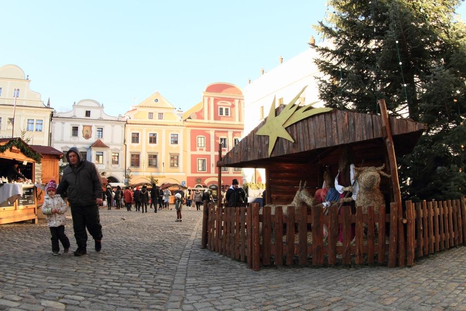 Vánoce - Český Krumlov - jesličky - Ježíšek