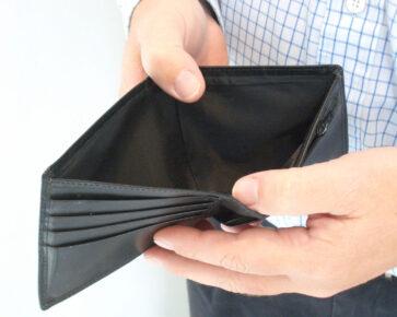 Prázdná peněženka - chudoba - oddlužení - exekuce nájemce
