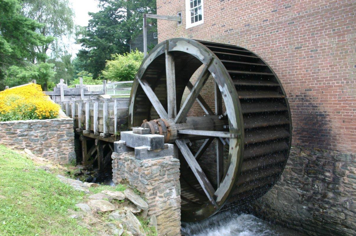 Vodní mlýn - mlýnské kolo