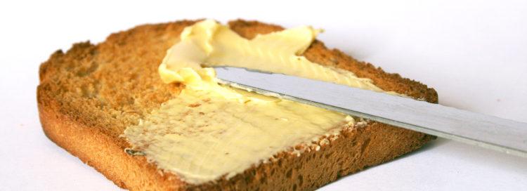 máslo chleba