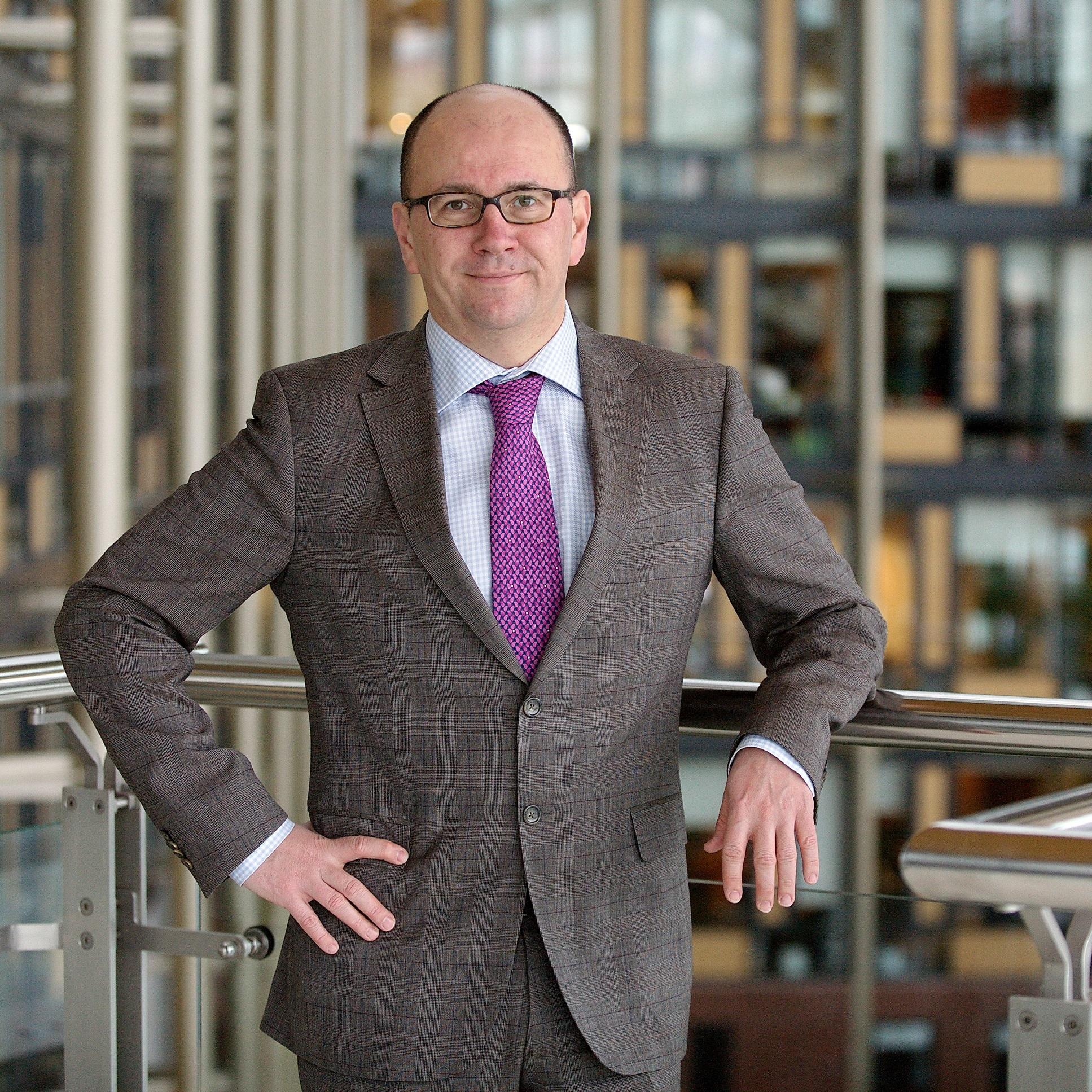 Stéphane Corbet, generální ředitel Komerční pojišťovny