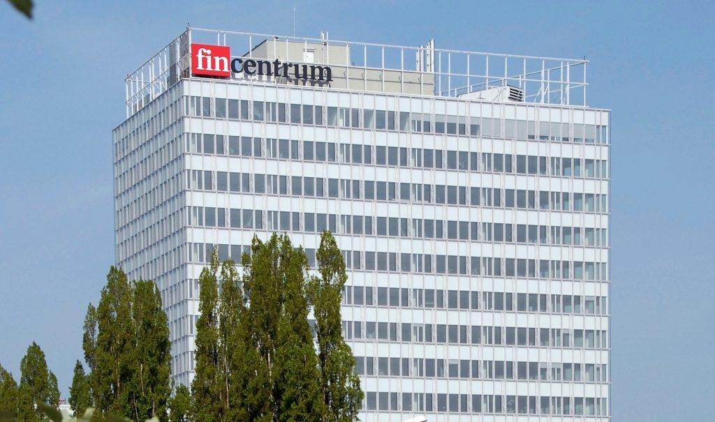 Fincentrum - budova - logo - zemských ředitelů