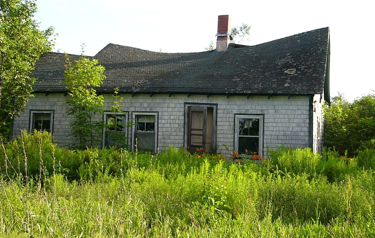ruina rodinného domu
