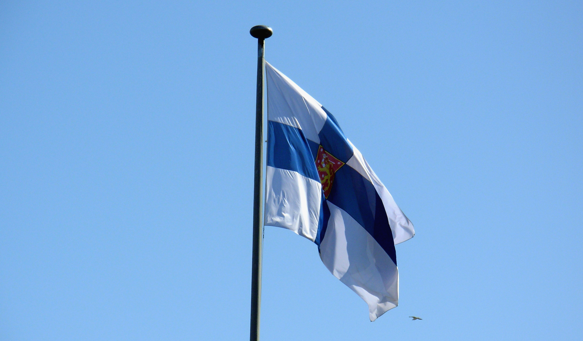 Finsko - finská vlajka