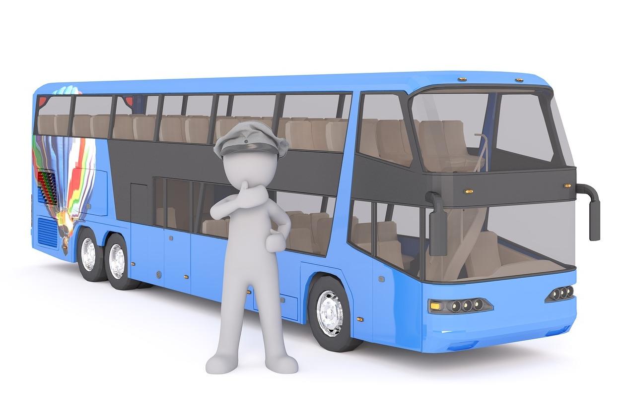 Autobus - řidič autobusu