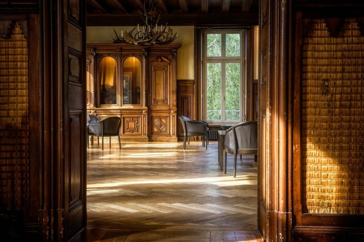 Historický byt - interiér