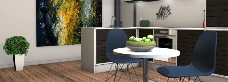 Moderní byt - interiér - kuchyň