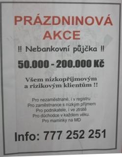 online nebankovní rychlé pujcky ihned milevsko